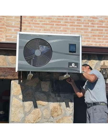 Instalación de bombas de calor para piscinas