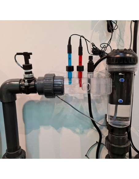 Instalación de clorador salino para piscinas