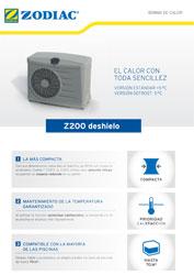 Catálogo Bomba de calor para piscinas Z200