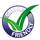 Etiqueta green friendly
